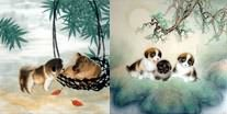 Chinese Dog Paintings