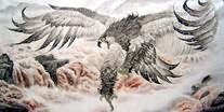 Chinese Eagle Paintings