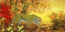 Chinese Leopard Paintings