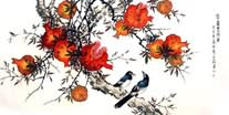 Chinese Pomegranate Paintings
