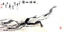 Chinese Shrimp Paintings