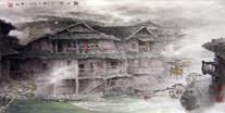 Chinese Village Countryside Paintings