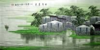 Chinese Water Township Paintings